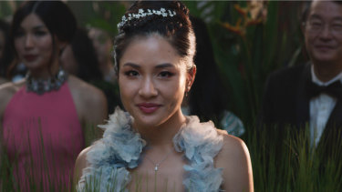 Constance Wu as Rachel Chu.