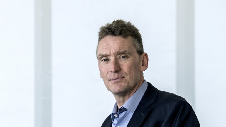 Vocus chief executive Kevin Russell took the reins of the troubled telco in May.
