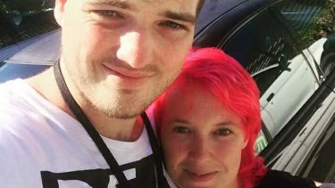 Jonathan Crabtree with friend Amy Lee.