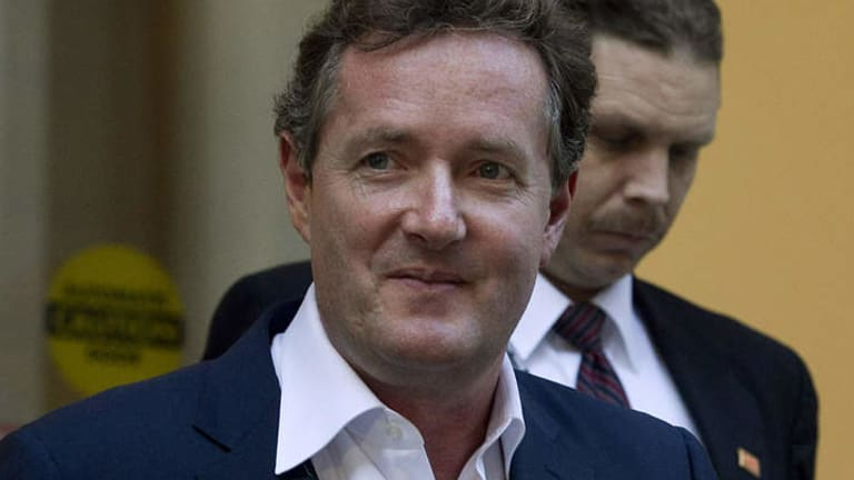 Stoking the fires: Piers Morgan's retweet saw Lizzie Simmons exposed to a horde of American haters.