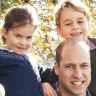 Royals reveal their Christmas card photos