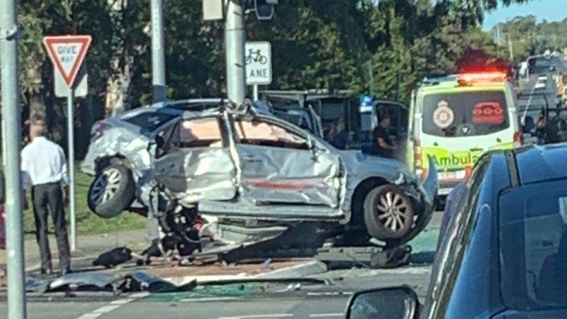 Stolen car driven by teen boy ran red light before fatal