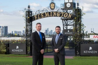 VRC chief executive Neil Wilson (left) and Kennedy executive chairman James Kennedy.