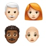 Apple teases new emoji, including new bald, red, curly and white hair