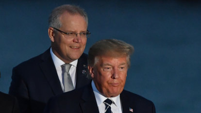 Why Scott Morrison's dinner with Donald Trump is a diplomatic victory
