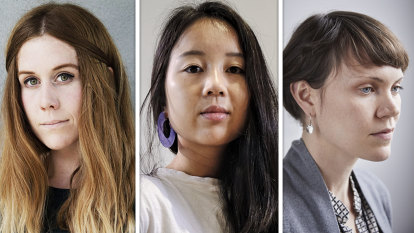 Three short story writers named Herald's Best Young Australian Novelists