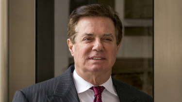 Paul Manafort, former campaign manager for Donald Trump.