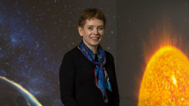 Australian astrobiologist Abigail Allwood leads the NASA team searching for life on Mars.