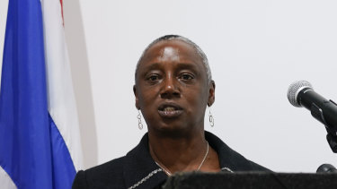 """""""Extortionists will never see the money"""": Stephanie Hinds, acting United States Attorney Northern District of California."""