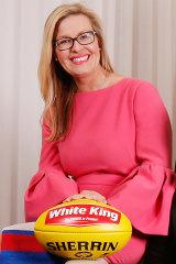 Bulldogs president Kylie Watson-Wheeler.