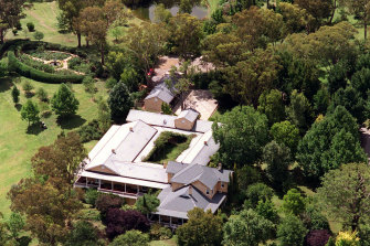 The Packer family's country estate Ellerston.