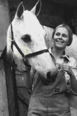 Penny Cook as vet Vicky Dean in A Country Practice, 1982.