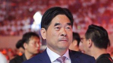 Billionaire and founder of Jiangsu Future Land Co, Wang Zhenhua.