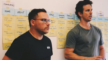 Stake co-founders Dan Silver and Matt Leibowitz.