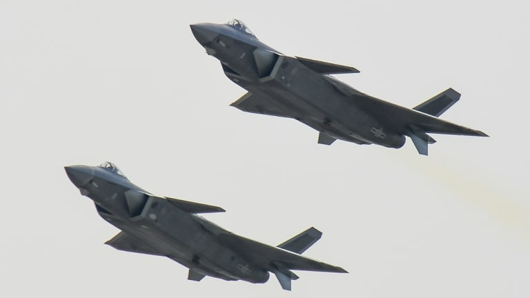 China's J-20 stealth fighter made its public debut at Airshow China last year in the latest sign of the growing sophistication of the country's military technology - some based on secrets stolen from the US