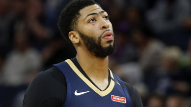Anthony Davis from New Orleans is in the squad.