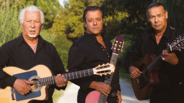 Chico Bouchikhi (centre) and the Original Gypsies.