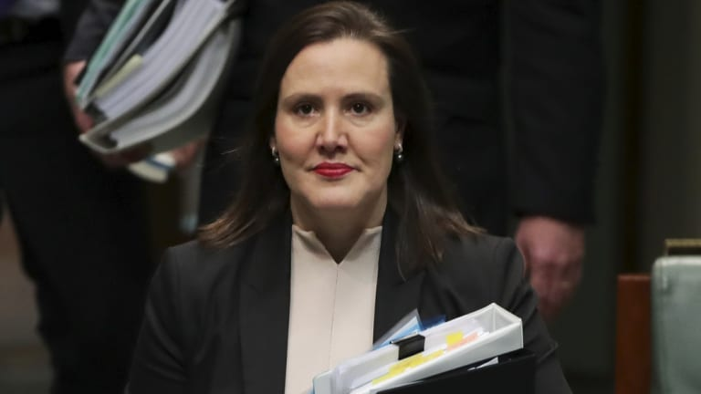 Minister for Revenue and Financial Services Kelly O'Dwyer.