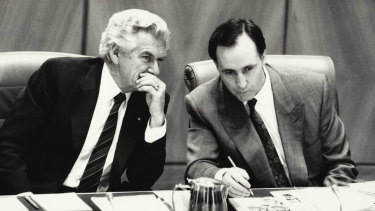 "Hawke and Paul Keating ""were a fantastic couple in terms of their shared values"" Craig Emerson said."