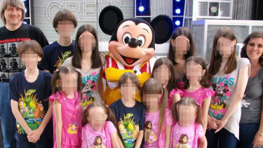 Facebook photos appeared to show a normal, happy life with trips to Disneyland and Las Vegas.