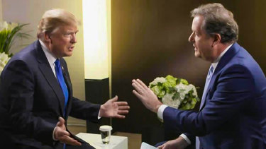 Piers Morgan was also once close to former US president Donald Trump before the pair fell out.