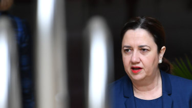 Annastacia Palaszczuk is keeping the Queensland border closed.