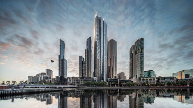 Crown will now look at its options for the project, which would top Q1 in Surfers Paradise as Australia's tallest building.
