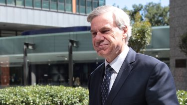 Michael Kroger leaves the Federal Court after a hearing in March.