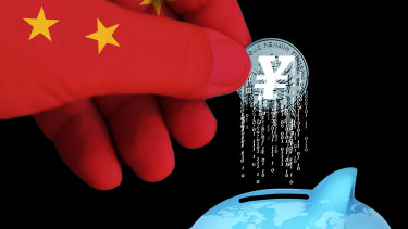 China has begun the shift from physical to digital currency.