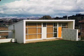 The Zwar house in Canberra.