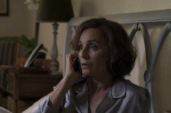 Kristin Scott Thomas as Kate has a brittle poise.