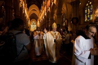 The Catholic Archbishop of Sydney, Anthony Fisher, is shocked at the resurgence of anti-Catholic sentiment