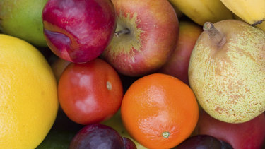 Roughly half of Australia's adults get enough fruit in their diet, and less than 10 per cent get enough vegetables.