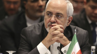 Javad Zarif, a critical figure in the 2015 Iran nuclear deal, dismissed the sanctions against him.