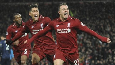 d0074a7d139 Decisive  Xherdan Shaqiri s (right) imapct from the bench was almost  immediate in the