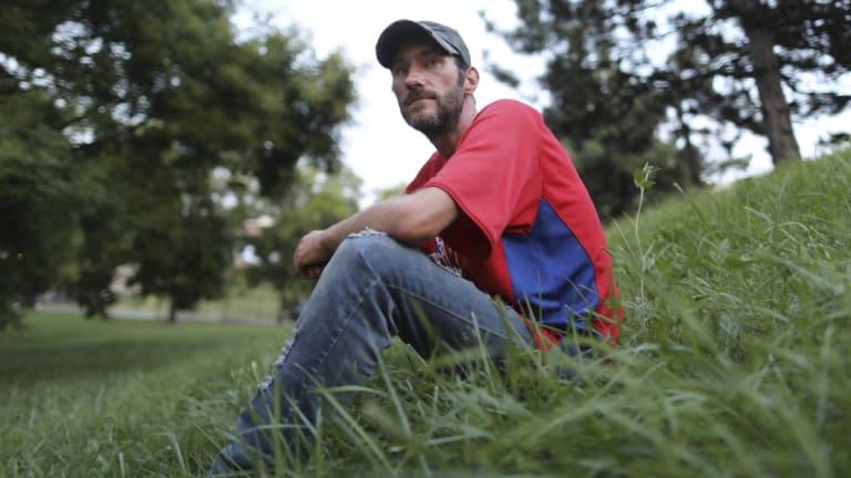 Homeless veteran Johnny Bobbitt.