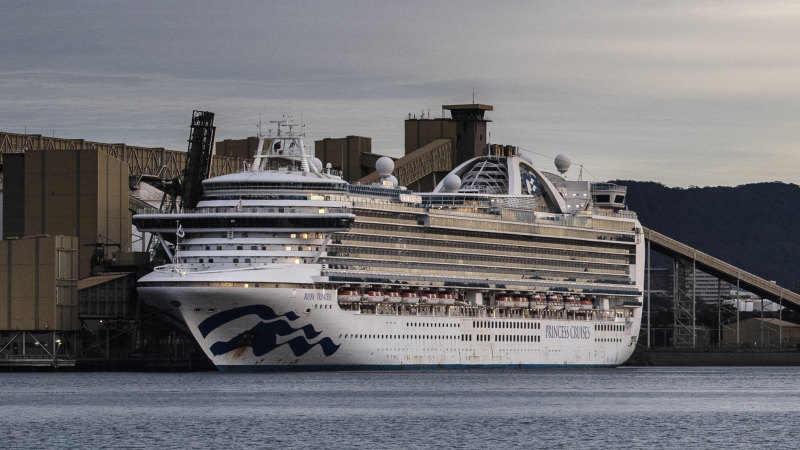 Ruby Princess rushed back to Sydney with COVID-19 swabs – Sydney Morning Herald