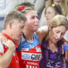 Suspected season-ending injury to Proud sours Swifts' big win