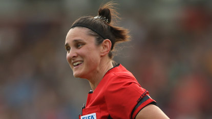 Jacewicz to become first woman to referee an A-League match