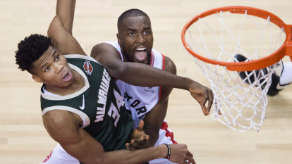 Raptors square series against Bucks