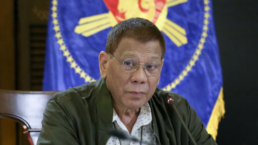 Philippine President Rodrigo Duterte has repeatedly said police could shoot suspected drug smugglers.