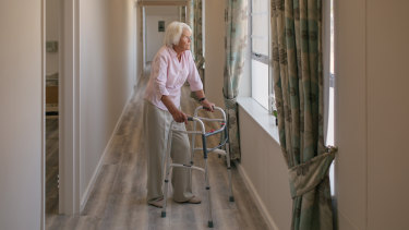 Many existing low-means aged care residents may have to pay more after the interest rate cuts.