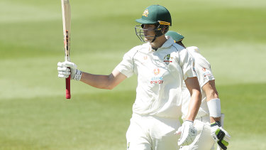 Green brings up a century for Australia A against the Indians