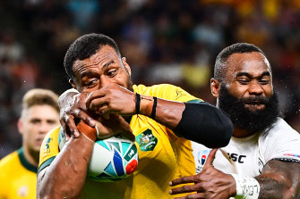 The Wallabies used Catapult's new Vector technology during the recent World Cup in Japan.