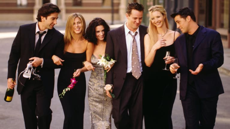 Matt LeBlanc in Friends.
