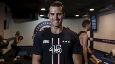 """Fitness has typically been a business that revolves around people not coming to your facility"": F45 director Jordan McCreary."