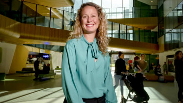 Associate Professor Margie Danchin, a Royal Children's Hospital paediatrician, says the high number of sick infants highlights how important maternal vaccination is.