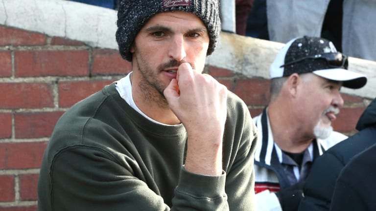 Scott Pendlebury takes in some VFL action recently.