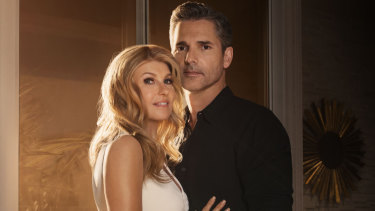Connie Britton and Eric Bana star in Dirty John on Netflix.