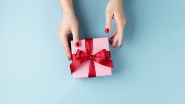 Gift-giving has become an expensive exercise.